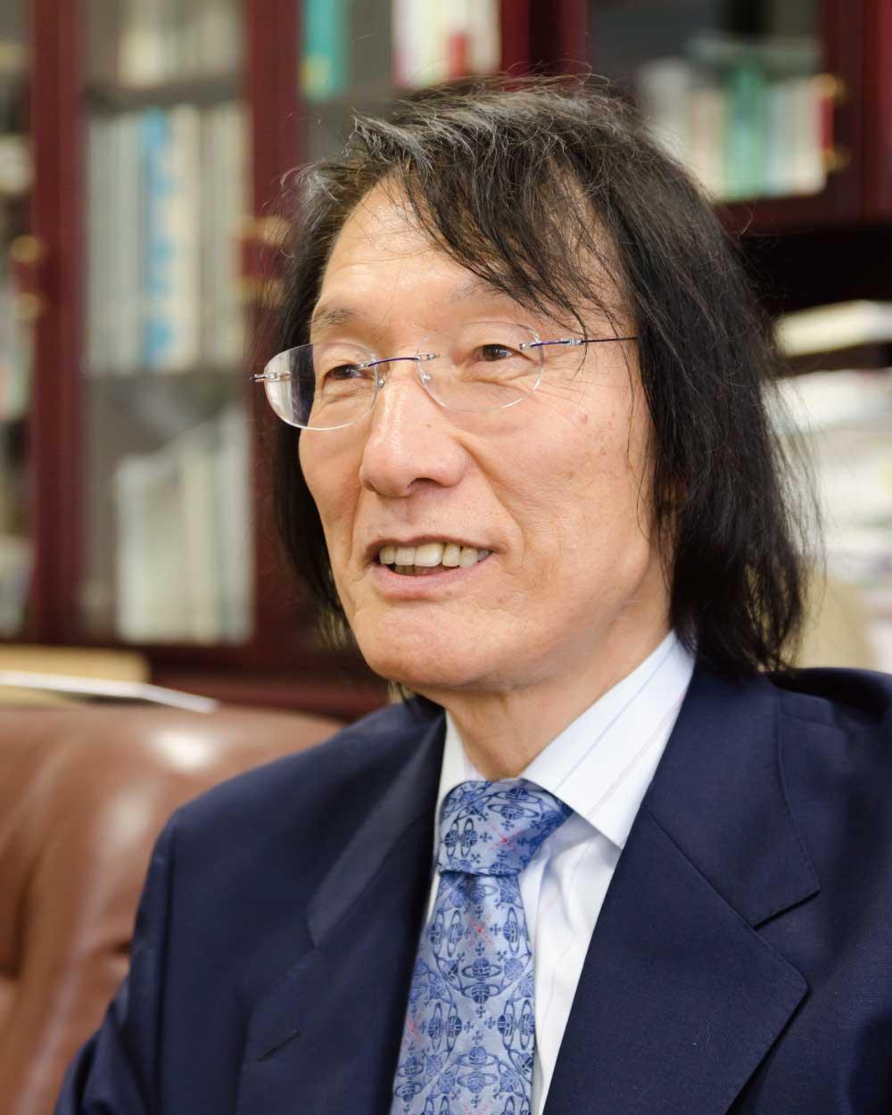 東北福祉大学渡辺信英教授